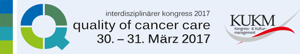 "3. QoCC Interdisziplinärer Kongress ""Quality of Cancer Care"""